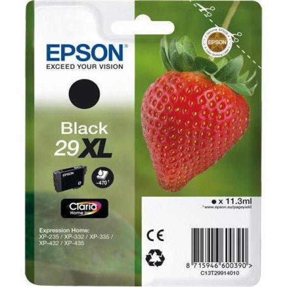 Epson 29XL (T2991) Hi Capacity Black Ink Cartridge