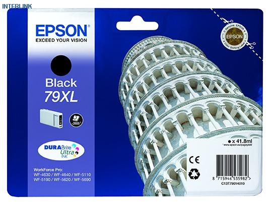 Epson T7901 79XL Black Ink