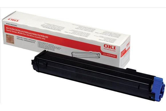 OKI 43979102 Black Toner Cartridge