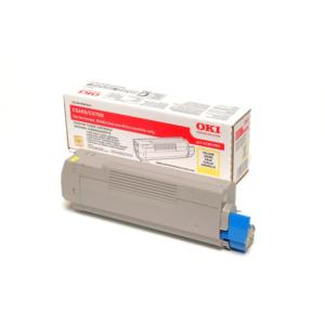 OKI 5700 Series Yellow Toner Cartridge