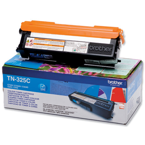 Brother TN325 Cyan Toner Cartridge