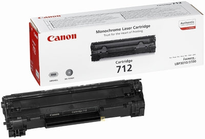 Canon 712 1870B002 Black Toner Cartridge