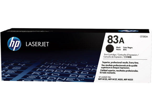 HP CF-283A (83A) Black Toner cartridge