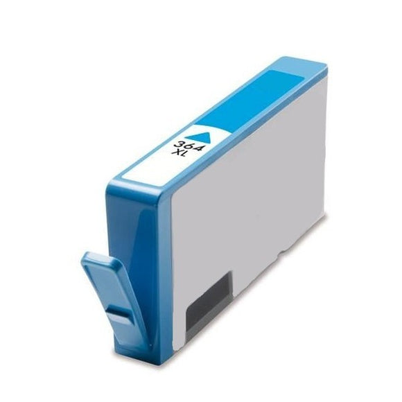 Hewlett Packard 364XL (CB323EE) Compatible Cyan Ink Cartridge