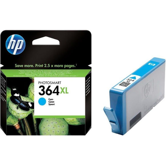 Hewlett Packard 364xl (CB323EE) Cyan Ink Cartridge