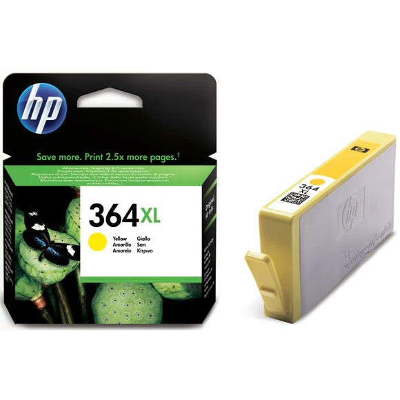 Hewlett Packard 364XL (CB325EE) Yellow ink Cartridge
