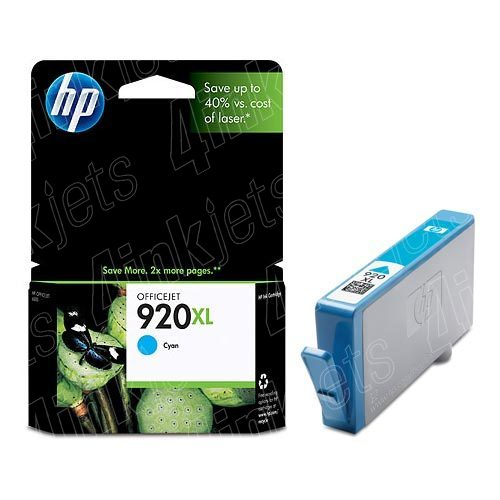 Hewlett Packard 920XL Cyan Ink Cartridge
