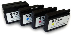 HP 932XL & 933XL Compatible Hi Capacity Multipack Of Ink Cartridge