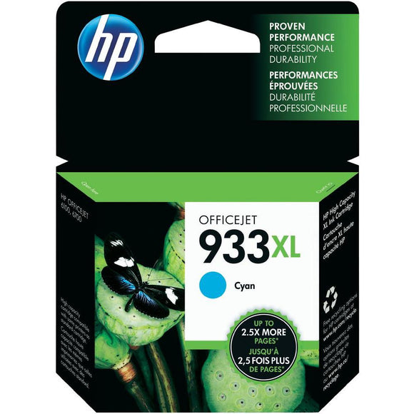 Hewlett Packard 933XL (CN054AE) Hi Capacity Cyan Ink Cartridge