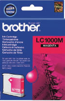 Original Genuine Brother LC1000 Magenta Ink Cartridge