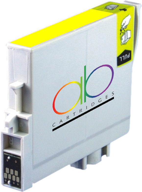 Epson T0544 Compatible Yellow Ink Cartridge