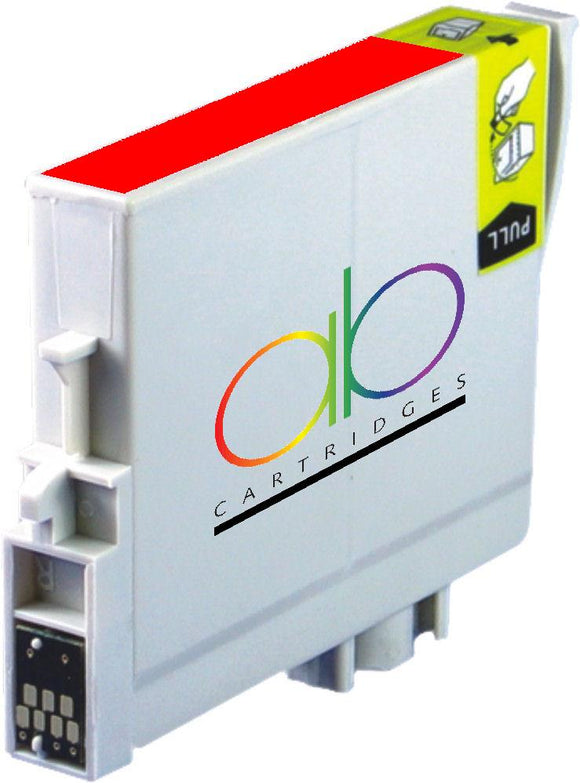 Epson T0547 Compatible Red Ink Cartridge