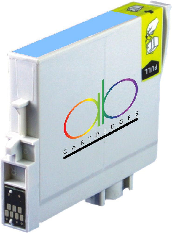 Epson T0595 Compatible Lite Cyan Ink Cartridge