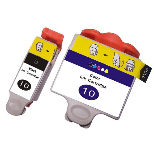 Kodak No10 Compatible Black & Colour Ink Cartridges