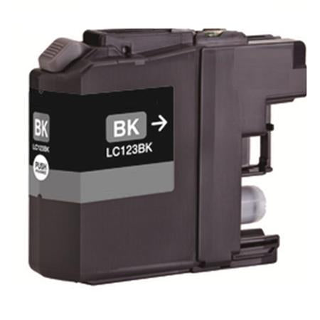 Brother LC123BK Black Compatible Ink Cartridge