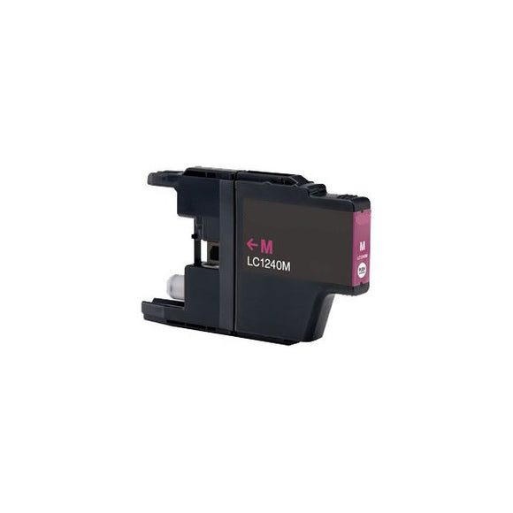 Brother LC1240 Compatible Magenta Ink Cartridge