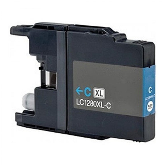Brother LC1280XL Cyan Compatible Ink Cartridge
