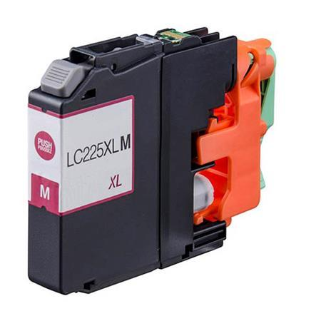 Brother LC225XL Magenta Hi Capacity Compatible Ink Cartridge