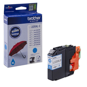 Brother LC-225XL Cyan Hi Capacity Ink cartridge