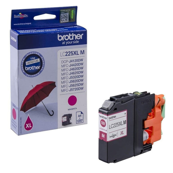 Brother LC-225XL Magenta Hi Capacity Ink Cartridge