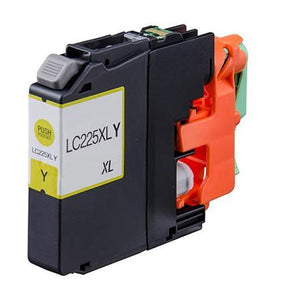 Brother LC225XL Yellow Hi Capacity Compatible Ink Cartridge
