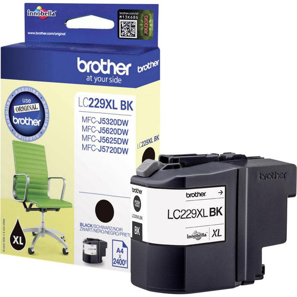 Brother LC-229XL Black Hi Capacity Ink Cartridge