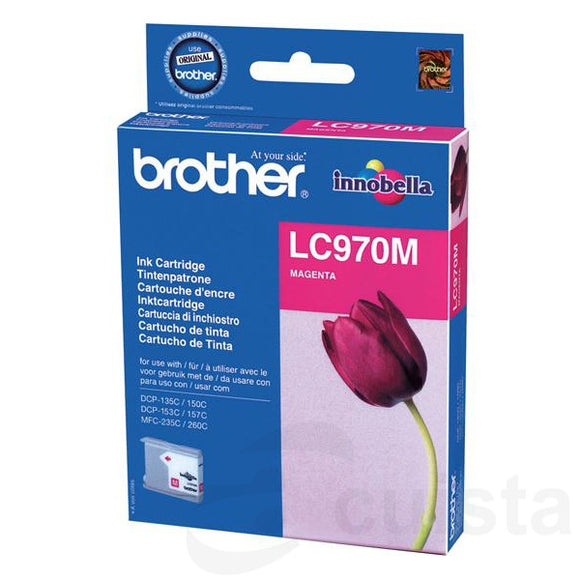 Brother LC970 Magenta Ink Cartridge
