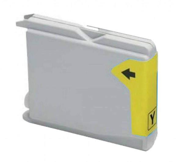 Brother LC970 Compatible Yellow Ink Cartridge