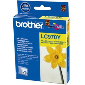 Brother LC970 Yellow Ink Cartridge