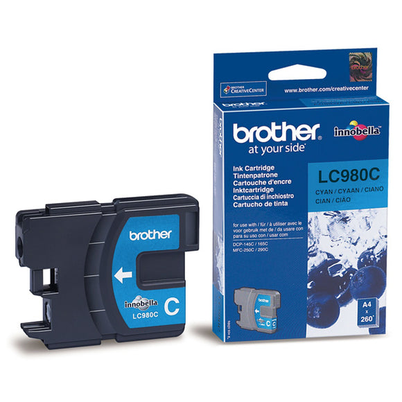 Brother LC980 Cyan Ink Cartridge