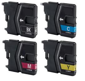 Brother LC985 Black,Cyan,Magenta & Yellow Ink Cartridge Multi Pack
