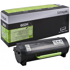 Lexmark 602H 10,000 Page Black Toner Cartridge