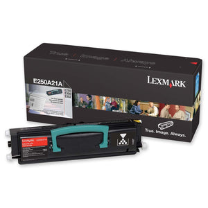 Lexmark E250 Black 3,500 Page Toner Cartridge