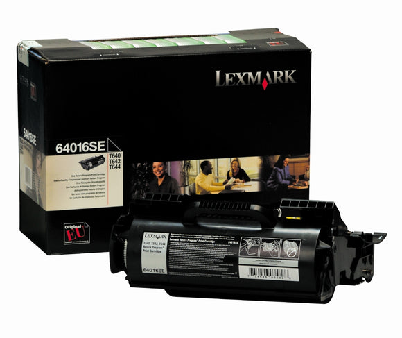 Lexmark T640 (64016HE) 21,000 Page Toner Cartridge