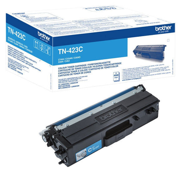 Brother TN423 Hi Capacity Cyan Toner