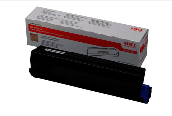 OKI 43979202 Hi Capacity Black Toner Cartridge