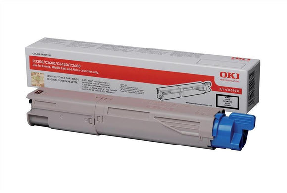 OKI MC360 Black Hi Capacity Toner Cartridge