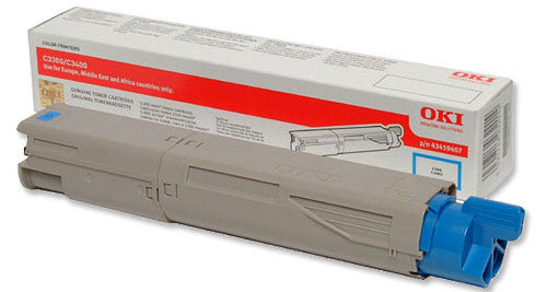 OKI MC350 Cyan Hi Capacity Toner Cartridge