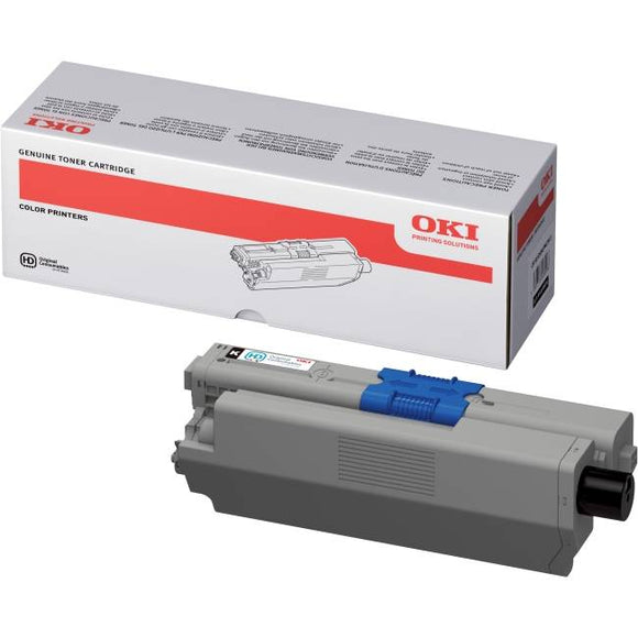 OKi C301 Black Toner Cartridge