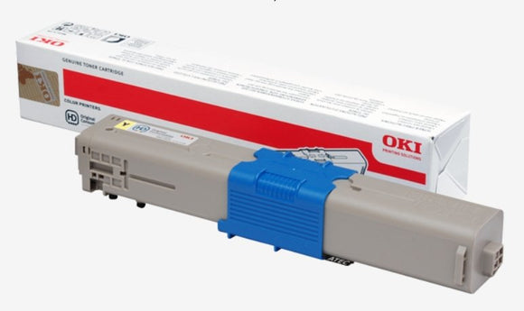 OKi C301 Yellow Toner Cartridge