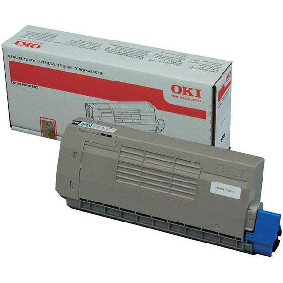 OKI 44318608 11,000 Page Black Toner Cartridge