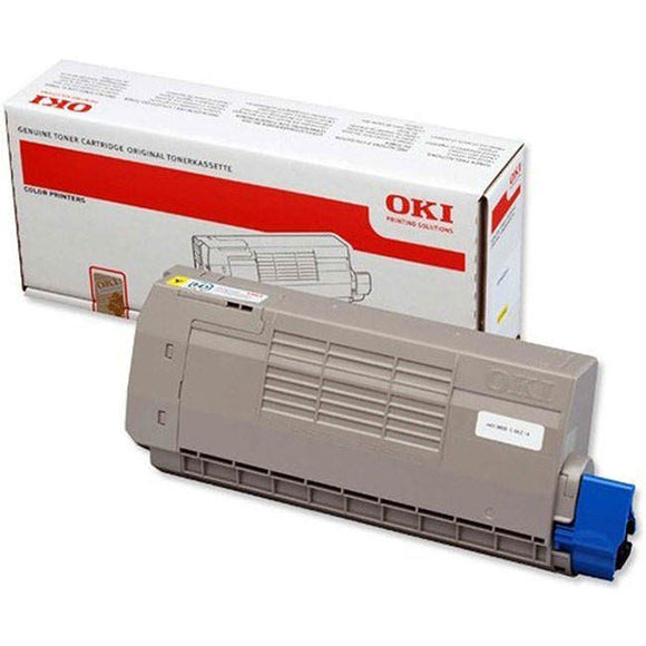 OKI 44318605 11,500 Page Yellow Toner Cartridge