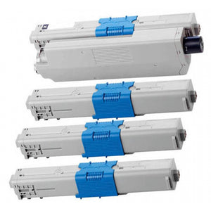 OKI MC361 Series Compatible Toner Cartridge Value Pack x 4