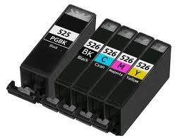 Canon Cli526 & Pgi525 Compatible Ink Cartridge Set