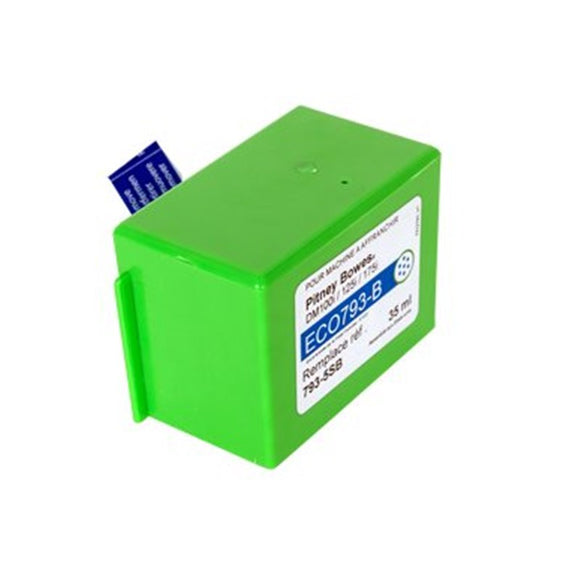 Pitney Bowes DM100i Blue Compatible Ink Cartridge