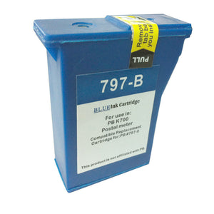 Pitney Bowes DM55 Compatible Blue Ink Cartridge