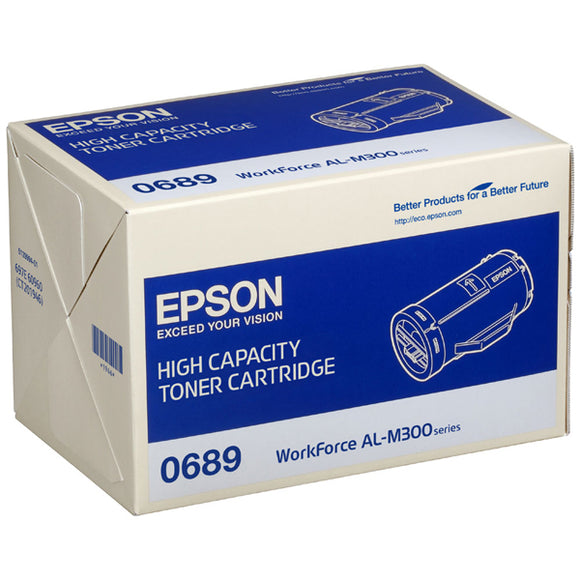 Epson S050689 Hi Capacity Black Toner Cartridge