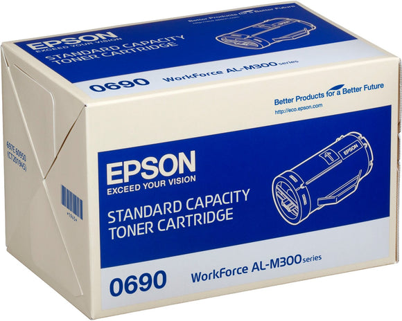 Epson S050690 Black Toner Cartridge
