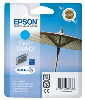 Epson T0442 Cyan Ink Cartridge