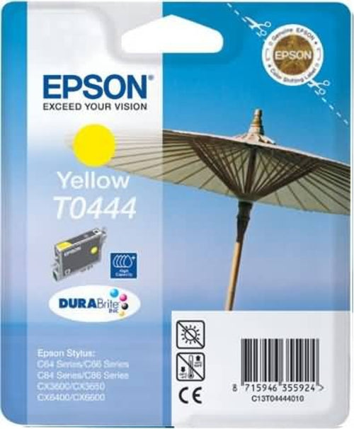 Epson T0444 Yellow Ink cartridge